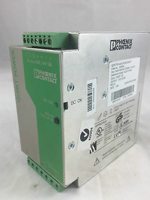 Phoenix Contact QUINT-PS-3x400-500AC/24DC/5 Power Supply Unit 2938594 3Ph USED