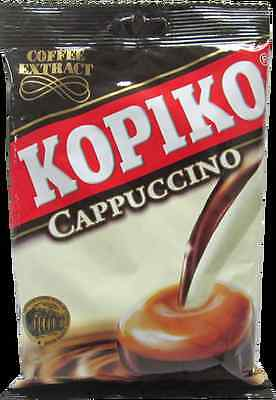 6 Packs x 150g KOPIKO Cappuccino extract hard Candy Strong and Rich