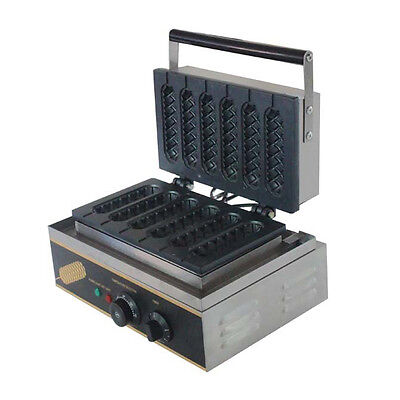 FY-119 Crispy Machine With Non-Stick Surface Meanwhile Bake 6 Hot Dog