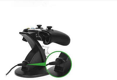Dual USB Charging Dock Docking Station Stand For Xbox One Controller PLANE