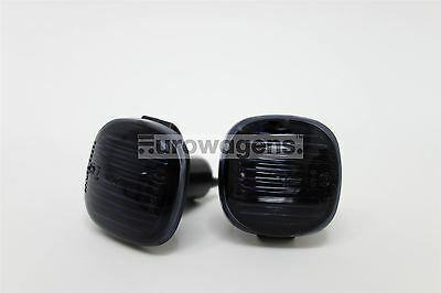Audi A3 A4 A8 95-99 Black Side Indicators Repeaters Set Pair Driver Passenger