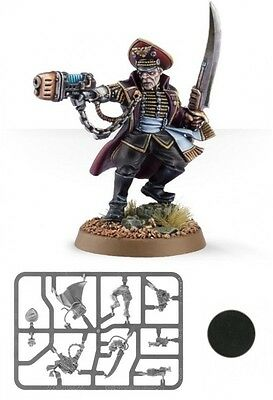 Astra Militarum Imperial Guard OFFICIO PREFECTUS COMMISSAR - Officer New 40K
