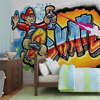 WALL MURAL PHOTO WALLPAPER XXL Graffiti Skate (3052WS)