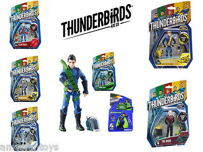 Thunderbirds Are Go! Movie Action Figures Lot of 6 FREE SHIPPING WORLDWIDE!!!!