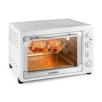 Small Oven Electric Grill Rotisserie X Large Mini Space Saver Kitchen *free P&p*