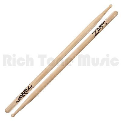 Zildjian 7A Wood Natural Drumsticks Pair