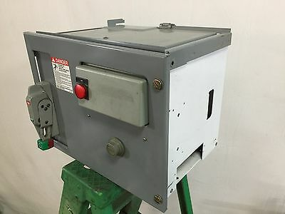 Square D Model 6 Motor Control Center Bucket, 1 HP, NEMA Size 1, 3 Phase, 480V
