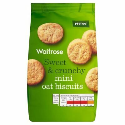 Mini Oat Biscuits Waitrose 125g