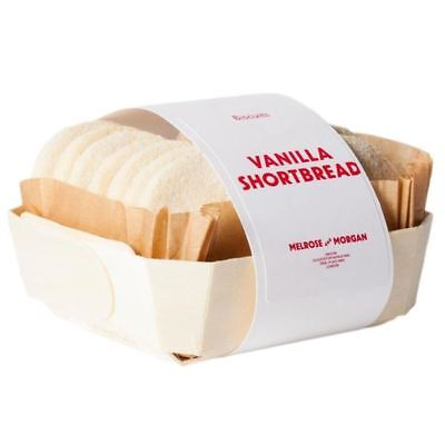Melrose & Morgan Vanilla Shortbread Biscuits 175g