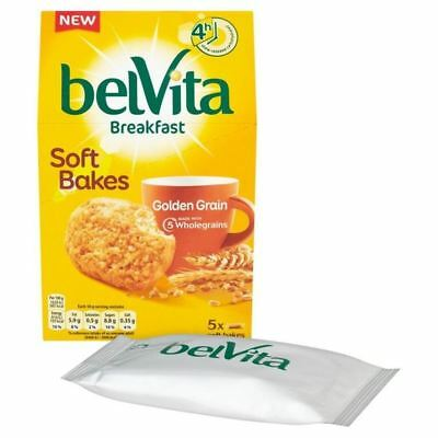 Belvita Soft Bake Golden Grain 5 x 40g