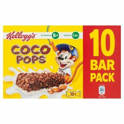 Kellogg's Coco Pops Cereal & Milk Bars 10 x 20g