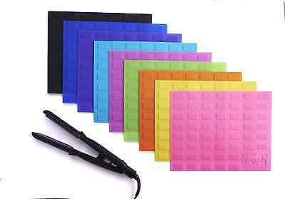 Flat Iron Travel Case Heat Resistant Silicone Mat for Straightener/Curling Iron