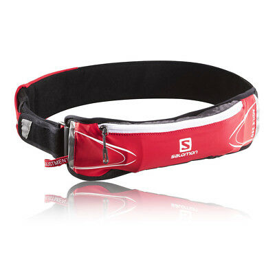 Salomon Agile 250 Set Red Airvent Sports Running Hydration Bottle Belt 250ml