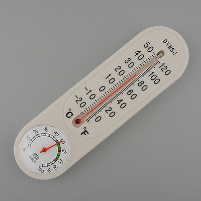 Thermometer Hygrometer Thermo-hygrometer Wall-mounted Temperature Temp Meter