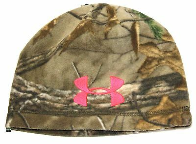 b8719f7e939aa Under Armour UA Women s CGI Scent Control Realtree Xtra 947 Camo Fleece  Beanie