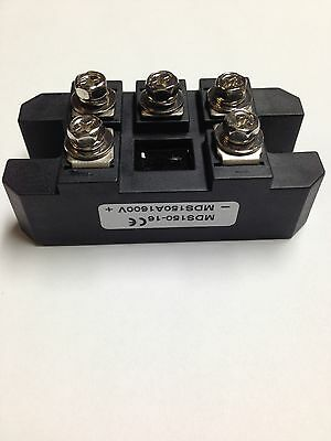 Bridge Rectifier 3ph 150A 1600V MDS150A diode 3 phase 150 amp 1600 volt 1pc