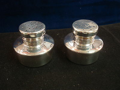 Baldwin & Miller Sterling Silver Paul Revere Repro. 432 Salt and Pepper Shakers