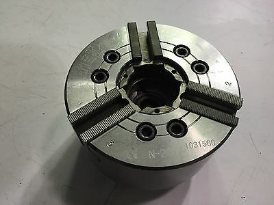 6 Inch Auto Strong 3 Jaw Power Chuck N-206 ***Free Shipping***