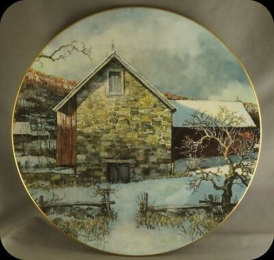 Eric Sloane Royal Doulton Pennsylvania Pastorale Collector Plate