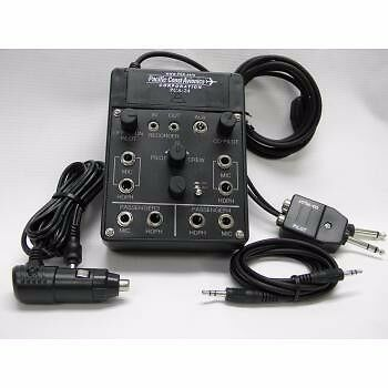 PCA PCA-24 4 Place Portable Intercom