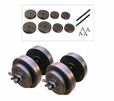 Gold's Gym Vinyl Dumbbell Set 40 lbs Designed For A Full Body Workout - New