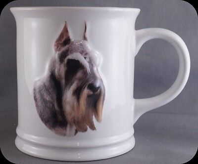 Xpres Best Friend Originals Schnauzer Ceramic Dog Coffee Mug NEW (two available)