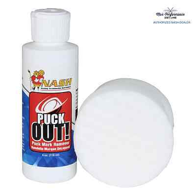 Nash Puck Out Puck Mark Remover! Removes Pucks Off Goalie Pads Authorized Dealer