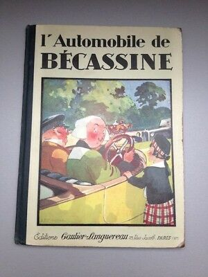 L'automobile de Bécassine - Édition de 1927 [ref.5]