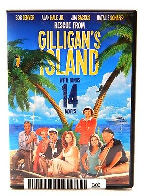 Rescue From Gilligan's Island Includes 14 Bonus Movies