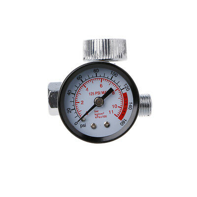 Pneumatic Air Control Compressor Pressure Gauge Regulating Regulator Valve