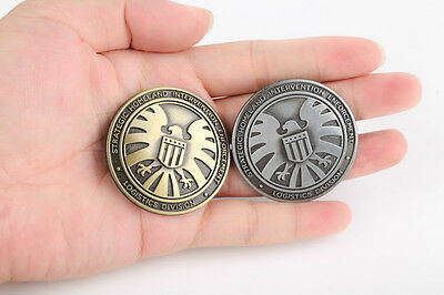 The Avengers Agents of Shield S.H.I.E.L.D Medal Badge Pin Insignia