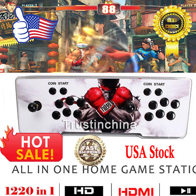 1220 Classic LED Metal Video Game In 1 Arcade Game Console Pandora's Box 6s
