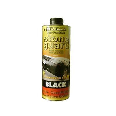 Silverhook Professional BLACK Stone Guard Anti Chip 1 Litre For Schutz Gun