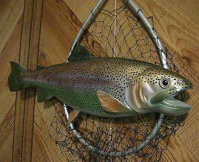 "Rainbow Trout Taxidermy Quality 18"" Wall Mount"