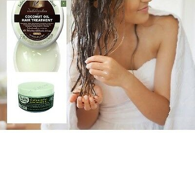 Coconut Oil Hair Treatment Dry Damaged  Growth Hairline Restore Shiny Hair Loss