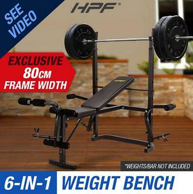 Multi-Station 80cm Ultra Weight Bench Home Gym Weights Leg Curl Press Equipment