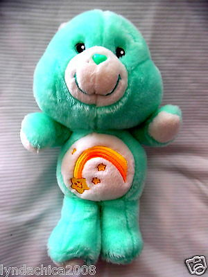Care Bears WISH BEAR Plush Toy (15 INCHES) By Carlton Cards