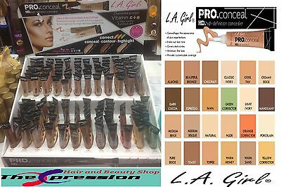 LA Girl PRO CONCEALER HD 100% AUTHENTIC ALL SHADES - AUTHORIZED UK SELLER
