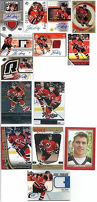 Zach Parise The Cup Future Watch Ultimate SPx Ice Young Guns rc patch auto lot