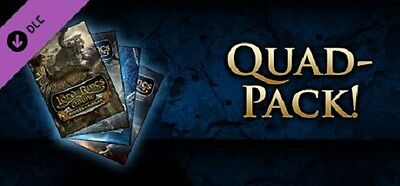 Lord of the Rings Online: Quad Pack - PC Voucher - 40% Off!!