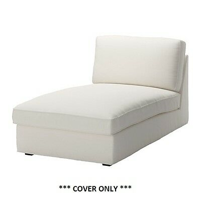 IKEA KIVIK - Cover for Chaise Dansbo White (cover only)