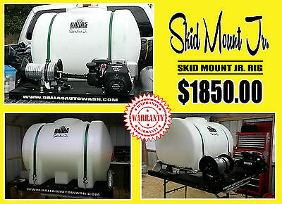 "█ █ █ ""the Skid Mount Jr"" Mobile Car Wash Rig"