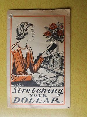 Stretching Your Dollar Booklet Lydia E Pinkhams Vegetable Compound Advertising