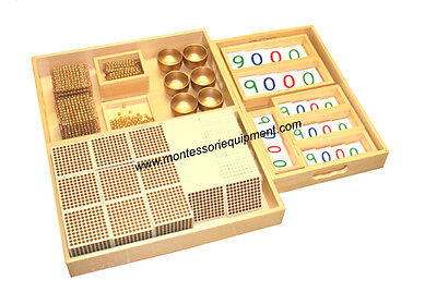 Montessori Math - Golden Bead Material - New