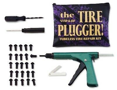 "Stop & Go Tubeless Tyre Plugger in zip Pouch with (25) ¾"" plugs"