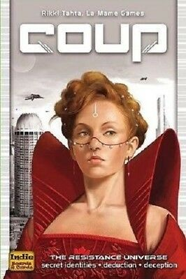 Coup The Resistance Universe Card Game Family Party Game Brand New
