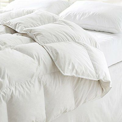 Luxury White Goose Feather & Down Duvet Quilt - 10.5 Tog (King) …