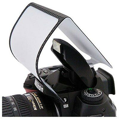 UK New Pop up Flash Diffuser Soft Box for Nikon Canon Olympus Pentax DSLR Camera