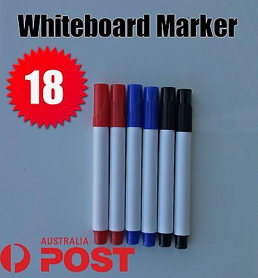 Red Black Blue Whiteboard Markers Dry Erase White Board Marker Colour  Fine Tip