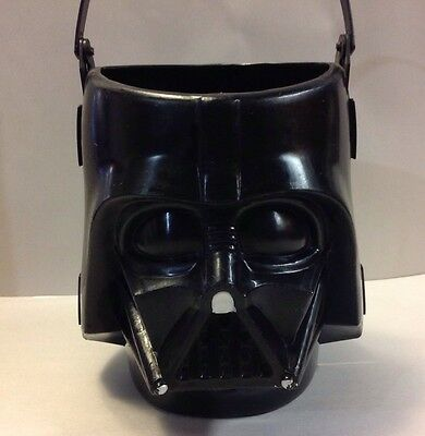 Star Wars Darth Vader 2005 Halloween Candy Bucket  Tote Rubies Costume